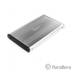 Gembird EE2-U3S-5-S Внешний корпус 2.5″ серебро, USB 3.0, SATA, до 2 Тб, металл