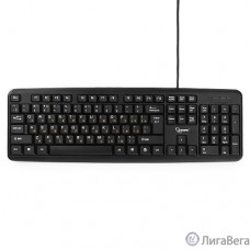 Keyboard Gembird KB-8320UXL-BL, черный, USB, кабель 2 м., 104 клавиши