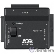 AgeStar FUBCP2 Универсальный переходник для HDD 2.5″/3.5″ , черный
