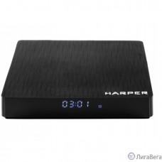 HARPER ABX-332 черный {Amlogic S912 Octa-Core 64-bit ARM Cortex-A53 2GHZ; Оперативная память: 3GB DDR3; Постоянная память: 32GB eMMC; WiFi: WiFi: 2.4G+5G 802.11ac}
