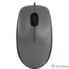 910-005490 Logitech M110 Silent (M110s) Mid Gray [бесшумная, оптическая, 1000dpi, USB, 1.8м]