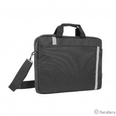 Сумка для ноутбука Defender Shiny 15''-16″ черный, светоотражающая полоса