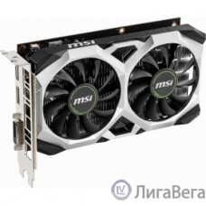 MSI GeForce GTX 1650 VENTUS XS 4G OC nVidia GeForce GTX 1650 4096Mb 128bit GDDR5 1485/8000 DVIx1/HDMIx1/DPx1/HDCP Ret