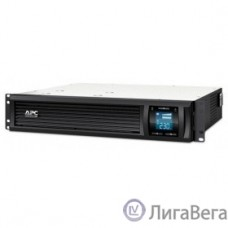 APC Smart-UPS C 1000VA SMC1000I-2URS {Line-Interactive, 2U RackMount, LCD, out: 220-240V 4xC13, LCD, Gray, 1 year warranty, No CD/ cables }