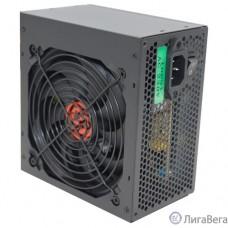 Ginzzu CB500 12CM black,24+4p,PCI-E, 4*SATA, 3*IDE,оплетка MB, кабель питания