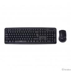 CBR KB SET 710, Комплект (клавиатура + мышь) проводной, USB, длина кабеля 1,8 м; клавиатура: полноразмерная, 104 клавиши; мышь: оптическая, 1000 dpi, 3 кнопки и колесо прокрутки