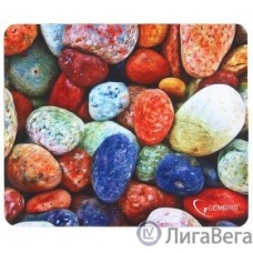 Коврик для мыши Gembird MP-STONES, рисунок ″камни″, размеры 220*180*1мм, полиэстер+резина