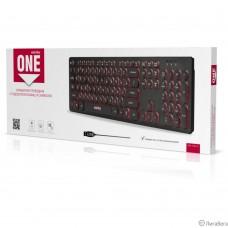 Клавиатура проводная с подсветкой Smartbuy ONE 328 USB Black [SBK-328U-K]