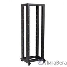 ITK LF05-42U66-2R 19″ двухрамная стойка, 42U, 600x600, на роликах, черная