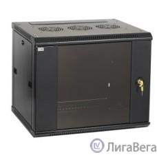 ITK LWR5-12U64-GF Шкаф LINEA W 12U 600x450 мм дверь стекло, RAL9005