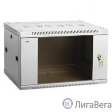 ITK LWR3-12U66-GF Шкаф LINEA W 12U 600x600 мм дверь стекло, RAL7035 [LWR3-12U66-GF]