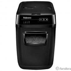 Fellowes Шредер AutoMax 150C FS-46801(01/02)*  {(секр.P-4)/фрагменты 4x38 мм,/150лист./32лтр./Уничт:скрепки, скобы, пл.карты,CD диски}