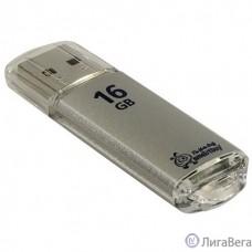 Smartbuy USB Drive 16Gb V-Cut series Silver SB16GBVC-S
