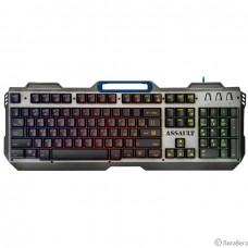 Defender Клавиатура  Assault GK-350L RU [45350] {Проводная игровая , радужная, метал}