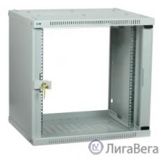 ITK LWE3-09U64-GF Шкаф LINEA WE 9U 600x450 мм дверь стекло серый