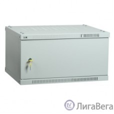 ITK LWE3-06U64-MF Шкаф LINEA WE 6U 600x450 мм дверь металл серый