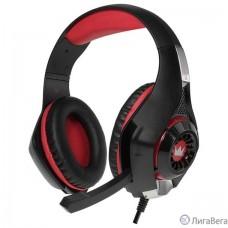CROWN CMGH-2000 Black&red (Подключение jack 3.5мм 4pin + адаптер 2*jack spk+mic,Частотныи? диапазон: 20Гц-20,000 Гц ,Кабель 3.2м, Динамки 50мм