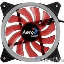 Fan Aerocool Rev Red / 120mm/ 3pin+4pin/ Red led