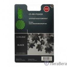 Cactus CS-RK-PGI450 Заправочный набор для Canon MG6340/5440/IP7240, черный, 60мл