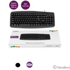 CBR KB 151, Клавиатура проводная полноразмерная, USB, 104 клавиши, ABS-пластик, длина кабеля 1,8 м