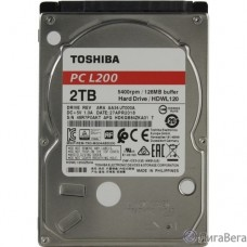2TB Toshiba L200 (HDWL120UZSVA) {Serial ATA III, 5400 rpm, 128Mb buffer, 2.5″}