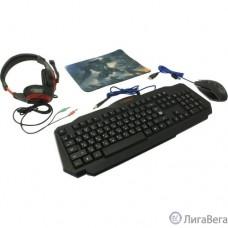 Defender Игровой набор Target MKP-350 [52350] {мышь+клавиатура+гарнитура+ков.}