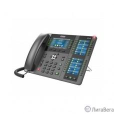 Fanvil X210 20 линии SIP, HD аудио,имеет цветной дисплей 4.3 дюймов 480x272, 3 ЖК дисплея, имеет 2 порта Gigabit LAN, питание PoE, 106 DSS/BLF ключи, WIFI, Bluetooth