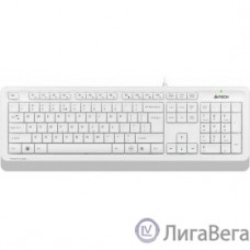 Клавиатура A-4Tech Fstyler FK10 WHITE белый/серый USB [1147536]