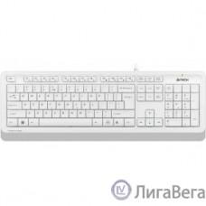 Клавиатура A-4Tech Fstyler FK10 WHITE белый/серый USB [1147536]