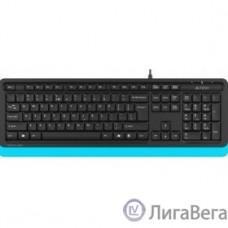 Клавиатура A-4Tech Fstyler FK10 BLUE черный/синий USB [1147528]