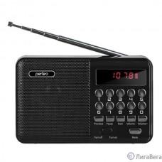 Perfeo радиоприемник цифровой PALM FM+ 87.5-108МГц/ MP3/ питание USB или 18650/ черный (i90-BL) [PF_A4870]