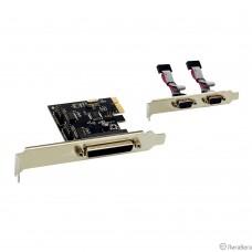Exegate EX281226RUS Контроллер EXE-303 PCI-E, 2*COM port + 1*LPT (OEM)