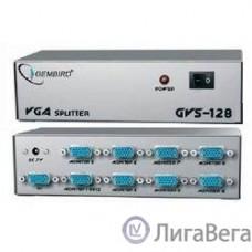 GVS128  Разветвитель сигнала VGA на 8 мониторов (Gembird/Cablexpert)