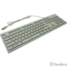 Oklick 550ML белый USB slim Multimedia LED [1061618]