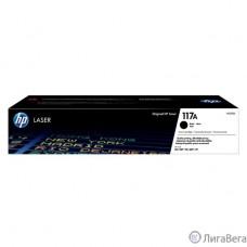 HP W2070A Картридж 117A лазерный, черный  (1000стр.)