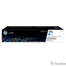 HP W2071A Картридж 117A лазерный, голубой  (700стр.)