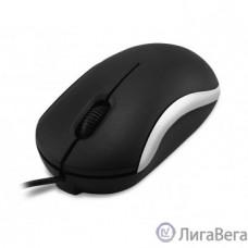 CBR CM 112 Silver, Мышь проводная, оптическая, USB, 1200 dpi, 3 кнопки и колесо прокрутки, длина кабеля 1,1 м, цвет чёрный-серебристый