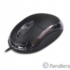 CBR CM 122 Black, Мышь проводная, оптическая, USB, 1000 dpi, 3 кнопки и колесо прокрутки, длина кабеля 1,3 м, цвет чёрный