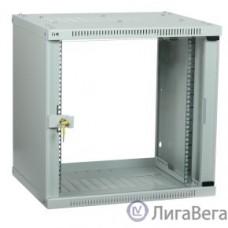 ITK LWE3-09U66-GF Шкаф LINEA WE 9U 600 600мм дверь стекло серый