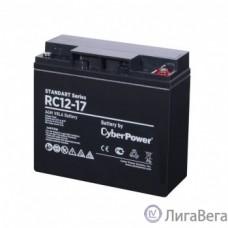 CyberPower Аккумулятор RC 12-17 12V/17Ah