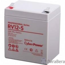 CyberPower Аккумулятор RV 12-5 12V/5,7Ah