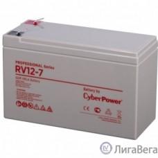 CyberPower Аккумулятор RV 12-7 12V/7Ah