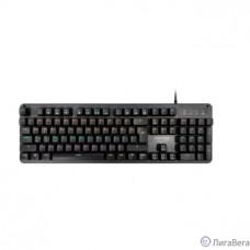 CBR KB 884 Armor, Клавиатура механическая игровая, USB, 104 кл., свитчи Outemu Blue, Anti-Ghosting, N-key rollover, подсветка, 60 млн. наж., прорезин. ножки, поверхн. ″под карбон″, длина кабеля 1,8 м