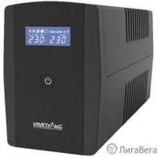 Импульс ИБП Юниор Смарт 2200 {2200/1320 ВА/Вт, LCD, USB, RJ11/RJ45, SCHUKOx4},черный [JS22223]