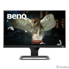 LCD BenQ 24″ EW2480 Черный/серый {IPS LED 1920x1080 16:9 250cd 1000:1 178/178 5ms 3xHDMI1.4 2.5Wx2}
