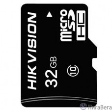 Micro SecureDigital 32Gb Hikvision HS-TF-C1/32G {MicroSDHC Class 10 UHS-I}