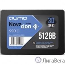 QUMO SSD 512GB QM Novation Q3DT-512GAEN {SATA3.0}