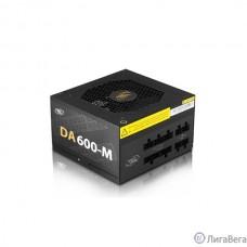 Deepcool DA600-M 600W (ATX 2.31, 80+ Bronze, Модульный, 120 mm FAN PWM, Active PFC)