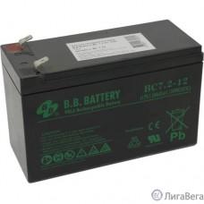B.B. Battery Аккумулятор BC 7.2-12  (12V 7,2Ah)