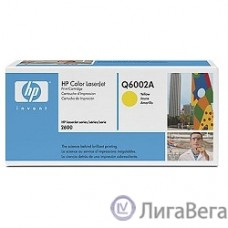 HP Q6002A Картридж ,Yellow{Color LaserJet 2600, Yellow, (2000стр.)}